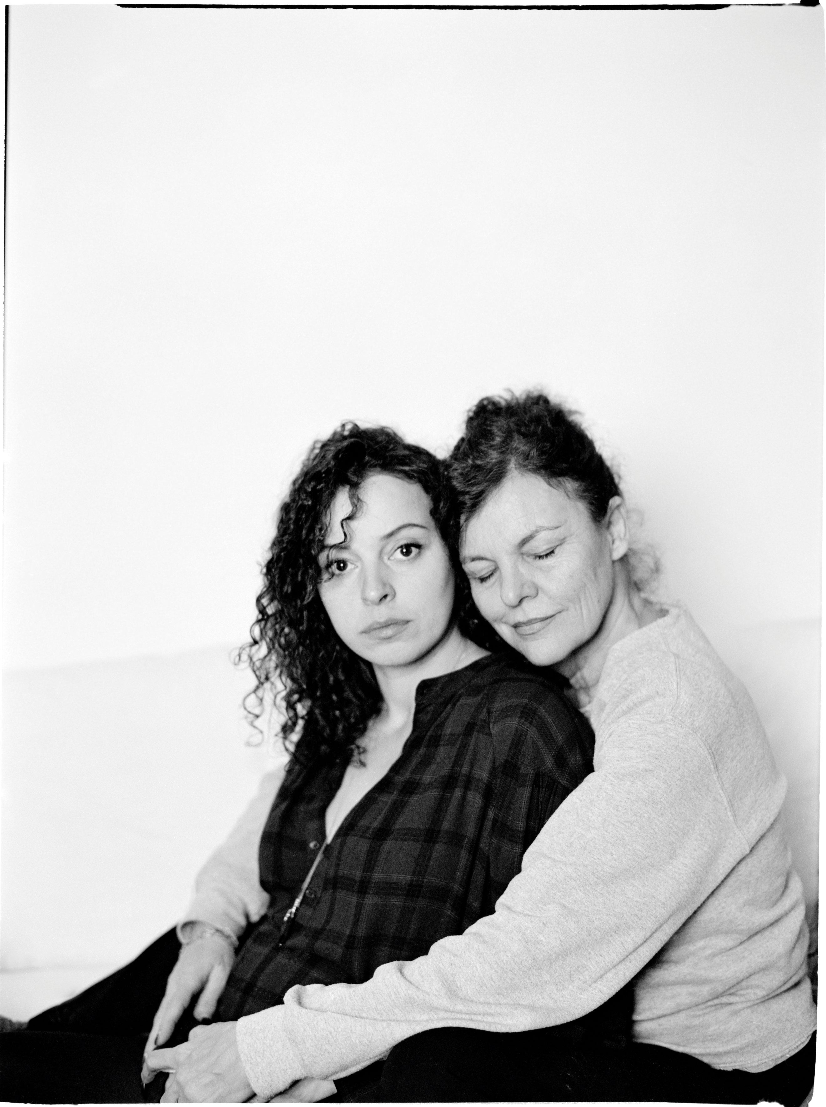 Marie Vinck en Hilde Van Mieghem © Marleen Daniëls