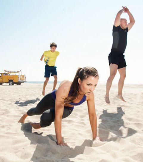 """Zandbak"" fitness: de hipste L.A. workout"