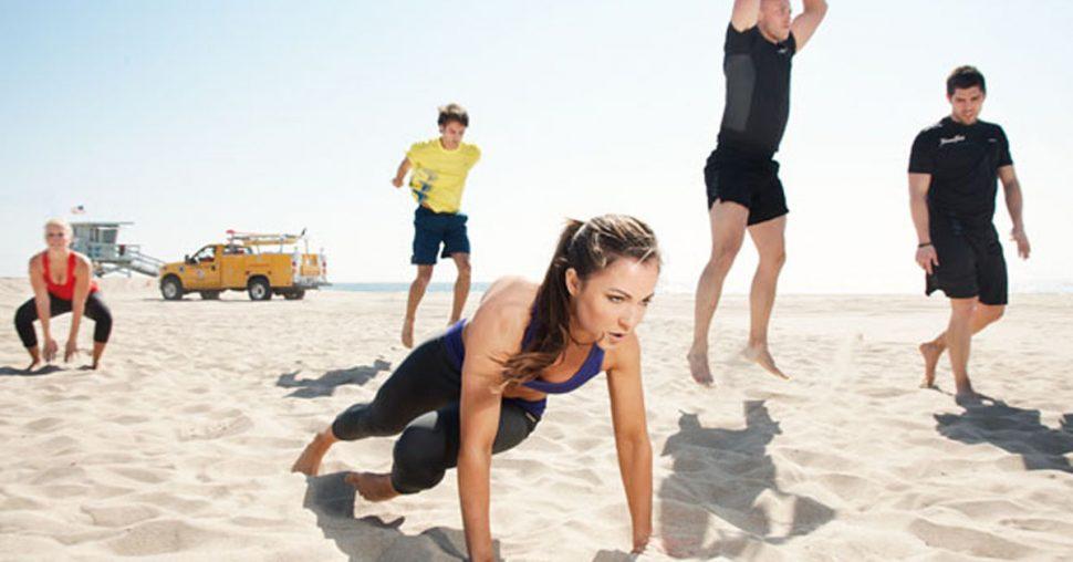 Sandbox workout fitness LA