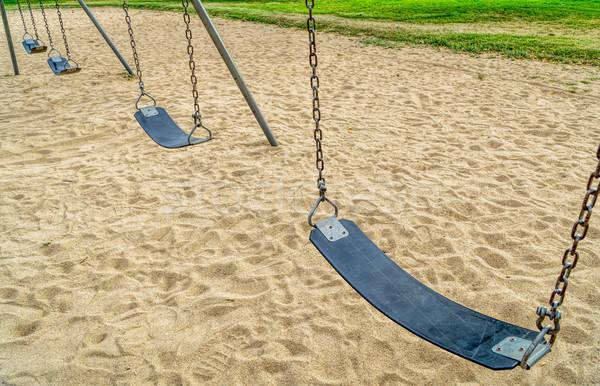 Sandbox fitness trend workout playground