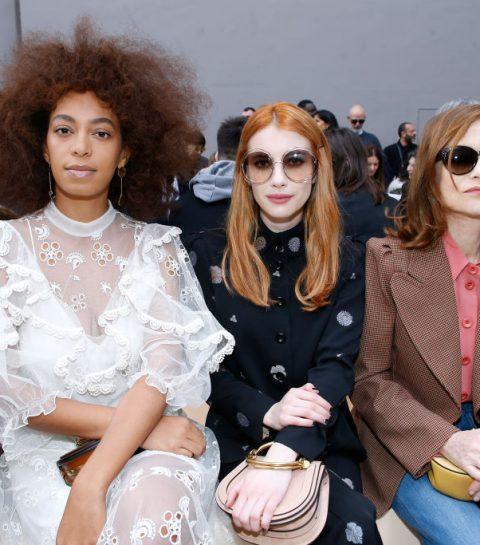 In beeld: celebs front row op Paris Fashion Week