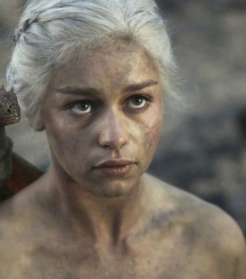 Daenerys Targaryen voor Dolce & Gabbana