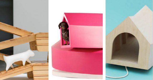 Design Voor Honden : Dogchitecture de mooiste design hondenhokken elle be
