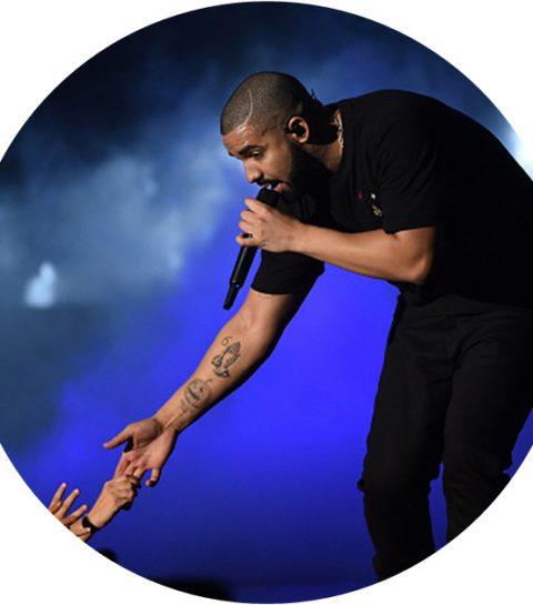 ZIEN: de nieuwste tattoo van Drake is wel heel bizar