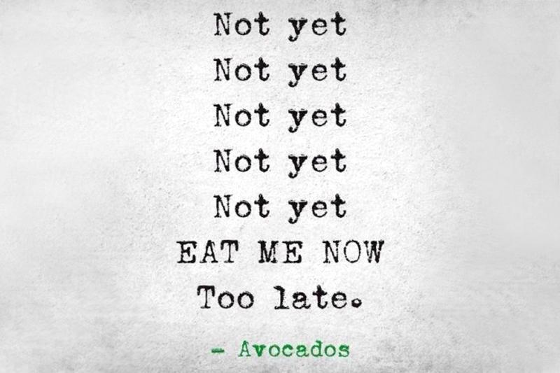 avocado life hack rijp