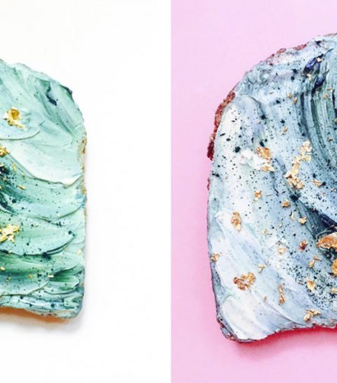 Dit is ons recept voor de Mermaid Toast