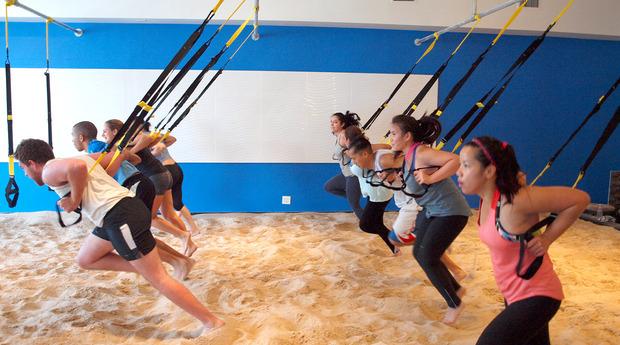 sandbox fitness indoor workout