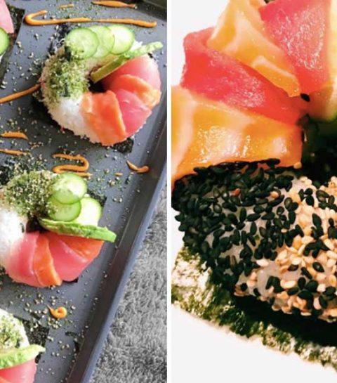 We love: de sushi donut