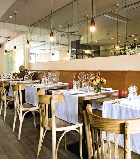 Ongedwongen genieten in Brasserie Vinois