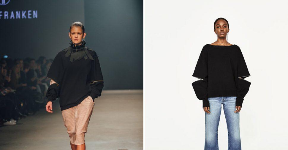 Zara kopieert opnieuw Belgische ontwerper