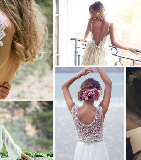 Open Rug Trouwjurk.Top 20 Allermooiste Bruidsjurken Met Rugdecollete Elle Be