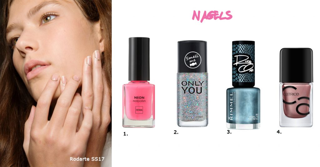 budget beauty nagels trend make-up