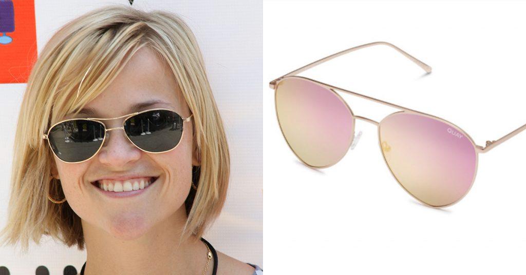 Lenteshopping: zonnebrillen voor elke gezichtsvorm reese witherspoon
