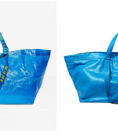Ikea's reactie op de 'fake' tas van Balenciaga is hilarisch