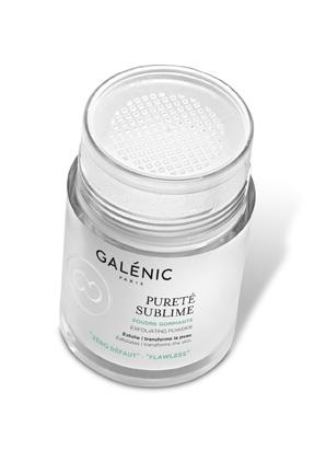 scrubpoeder galenic powder cleanser