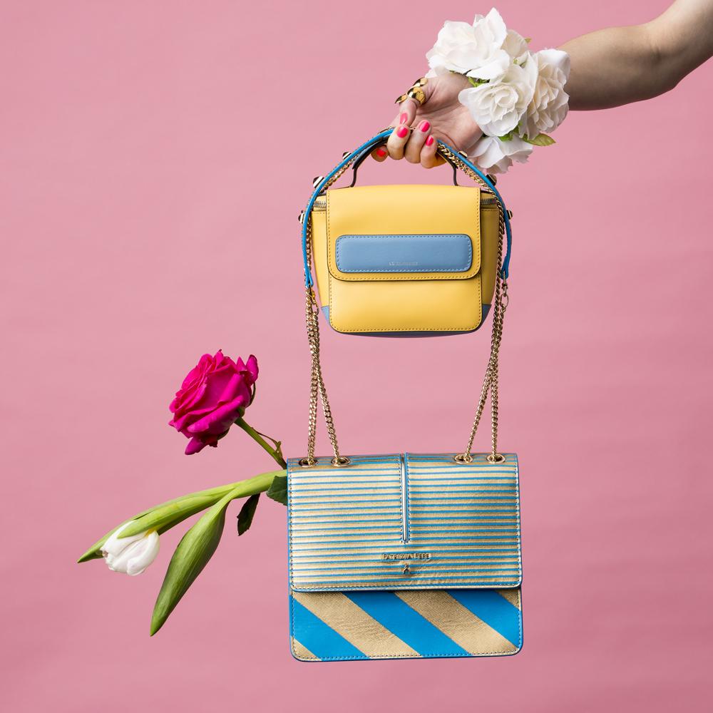 Shopping-accessoires-bag-tas-handtas-it-Le Tanneur-Patrizia Pepe-bloemen