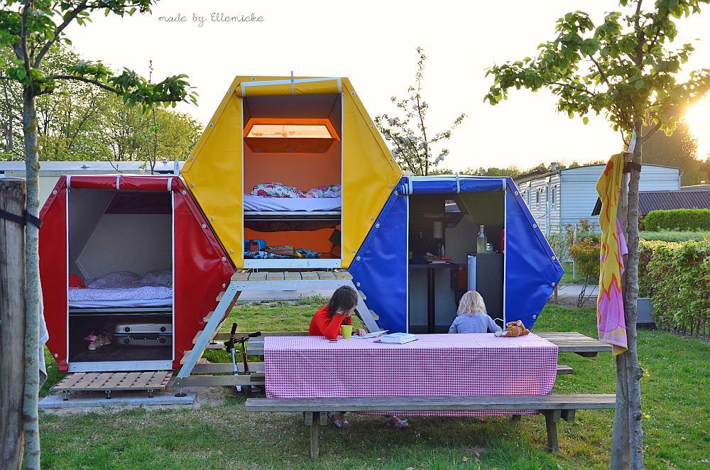 tent b and bee festivalfever luxueus overnachten