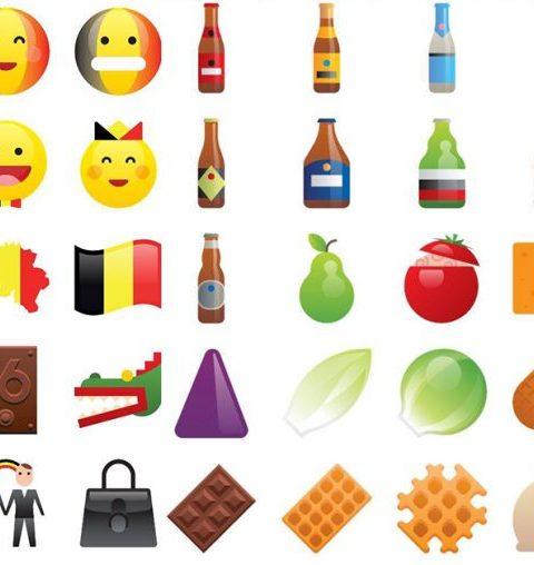 Eindelijk: er bestaan nu ook Belgische emoji