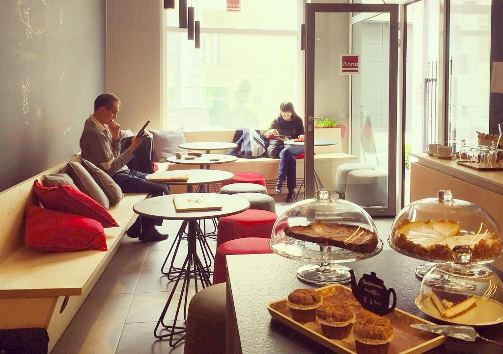 Blok studeren in Leuven Anna Coffee & Tea