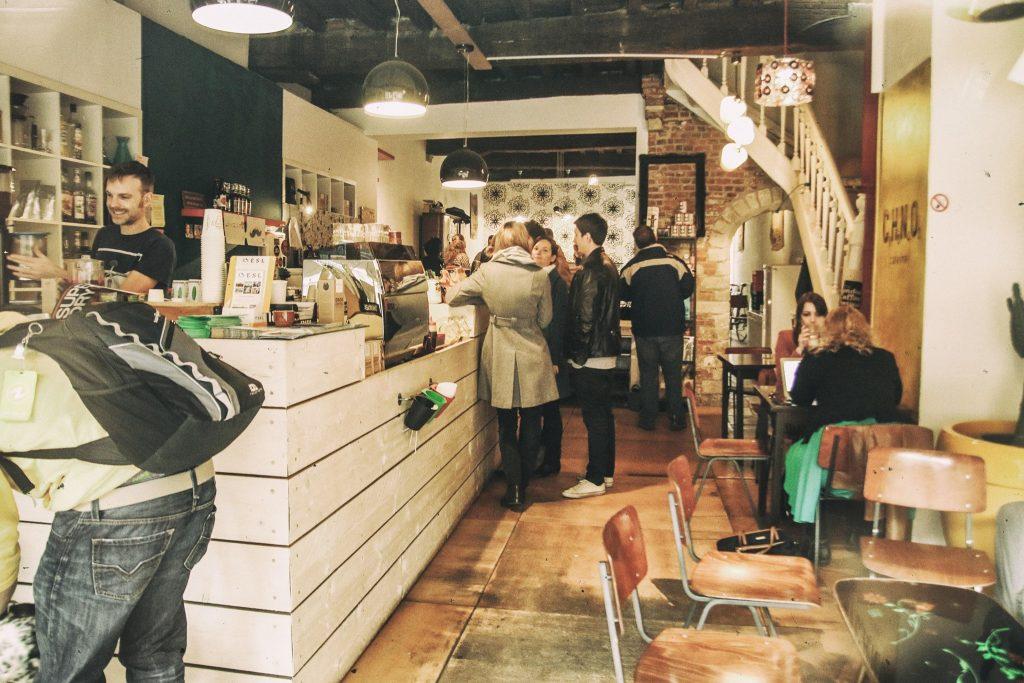 Blok studeren in leuven Noir Coffee