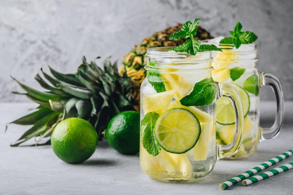fruit, water, detox, gezond, recept