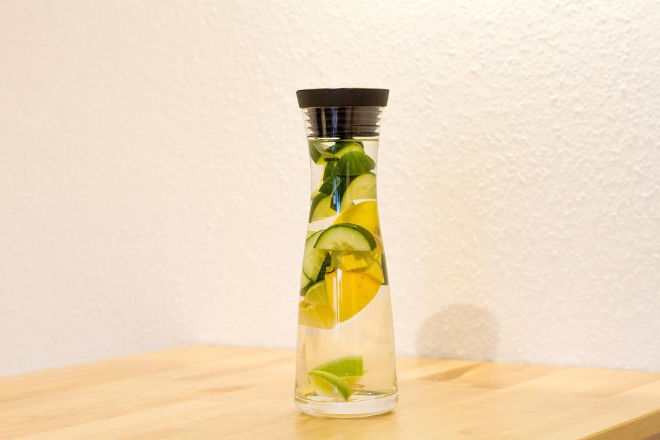 Fruitwater receptjes komkommer