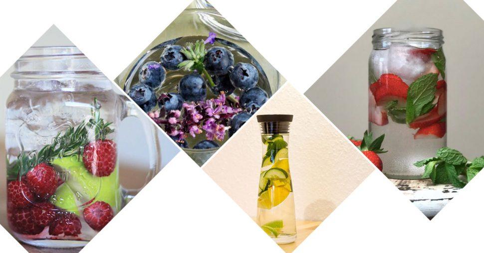 Fruitwater receptjes gezond
