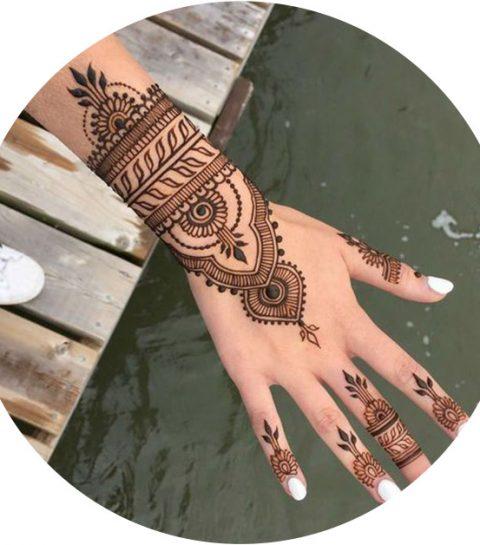 DIY: zo maak je henna tattoos