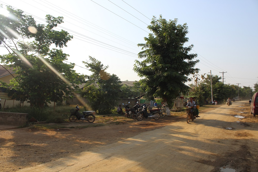 Het 'centrum' van Okpha.