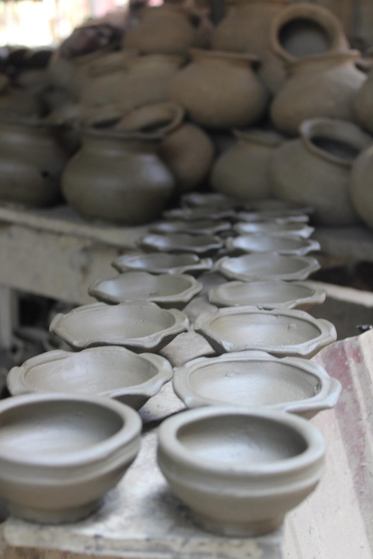 in de pottenbakkerij