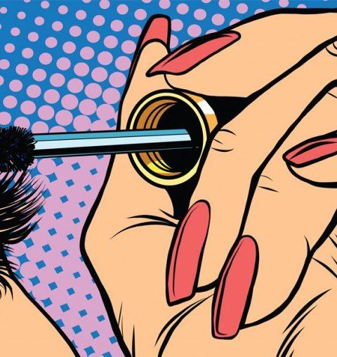 How to: de ultieme mascara truc voor krullende wimpers