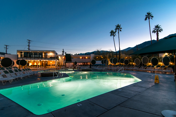 palm springs ace hotel swim club, coachella