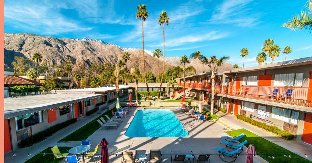 palm springs coachella vakantie travel
