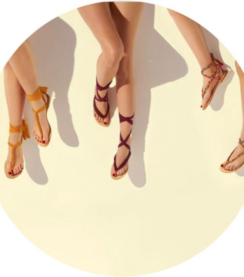 Hebben: de personaliseerbare sandalen van Eres x Nupié