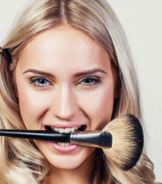 beauty pop-up make-up hair