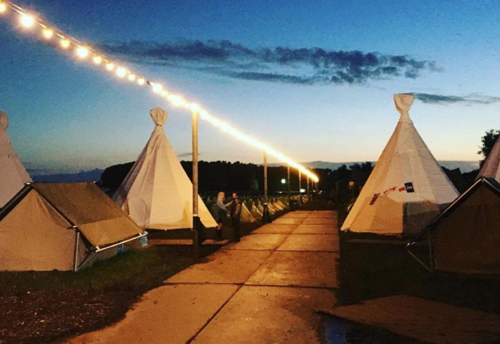 tent the hive resort festivalfever
