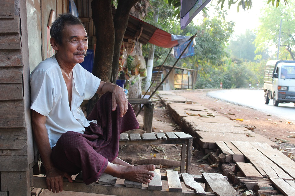 the simple life in Myanmar