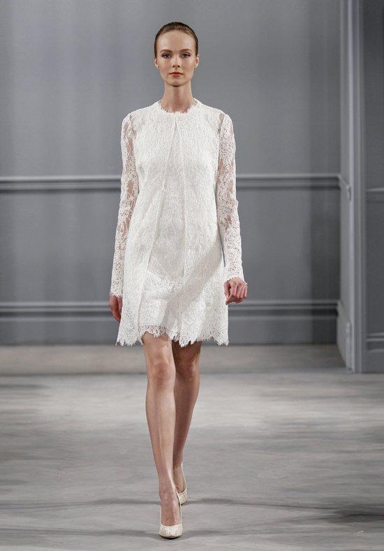 trouwtrends 2017 korte jurk Monique Lhuillier