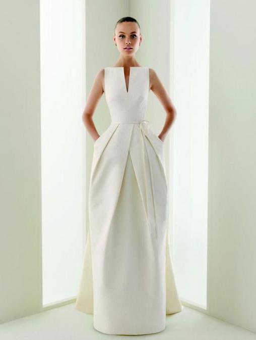 trouwtrends 2017 structuur jurk