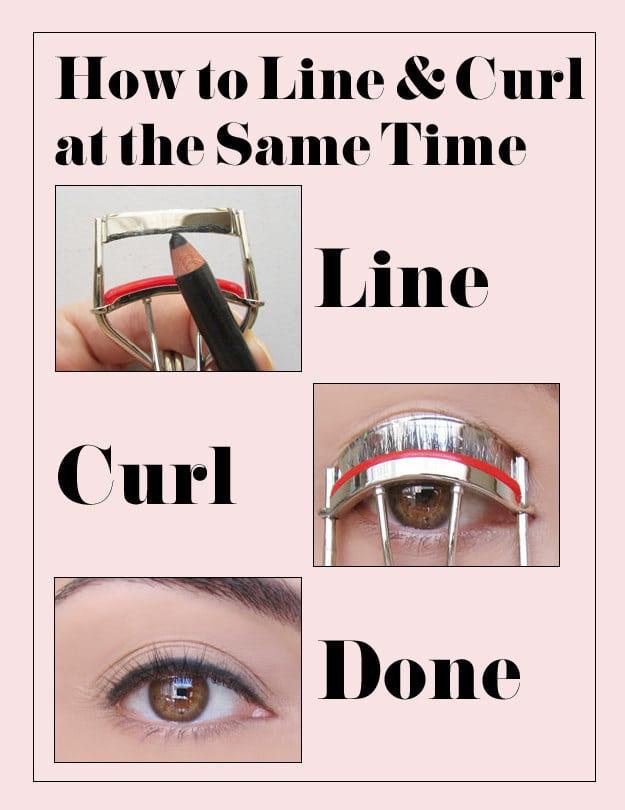 wimpers eyeliner krultang