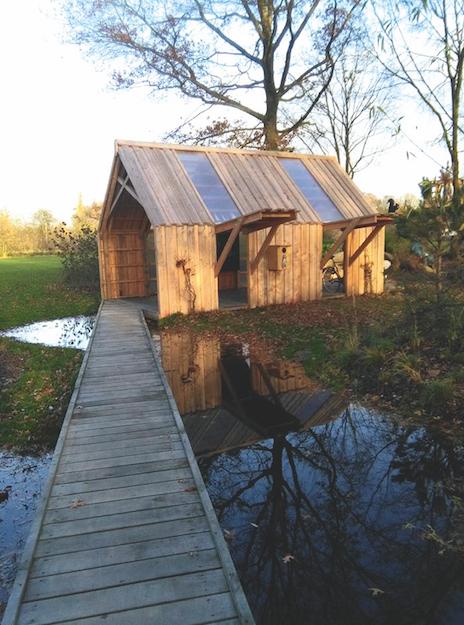 De barak van Bartel,Bartel Van Riet,Mechelen,groene plekjes,ELLE-redactie