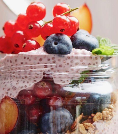 Easy Vegan Challenge: Frambozenchiapudding