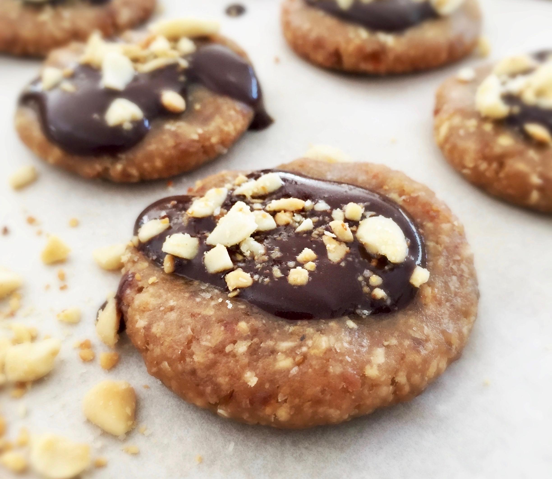 'Snickers' Pindakaaskoekjes met Chocolade