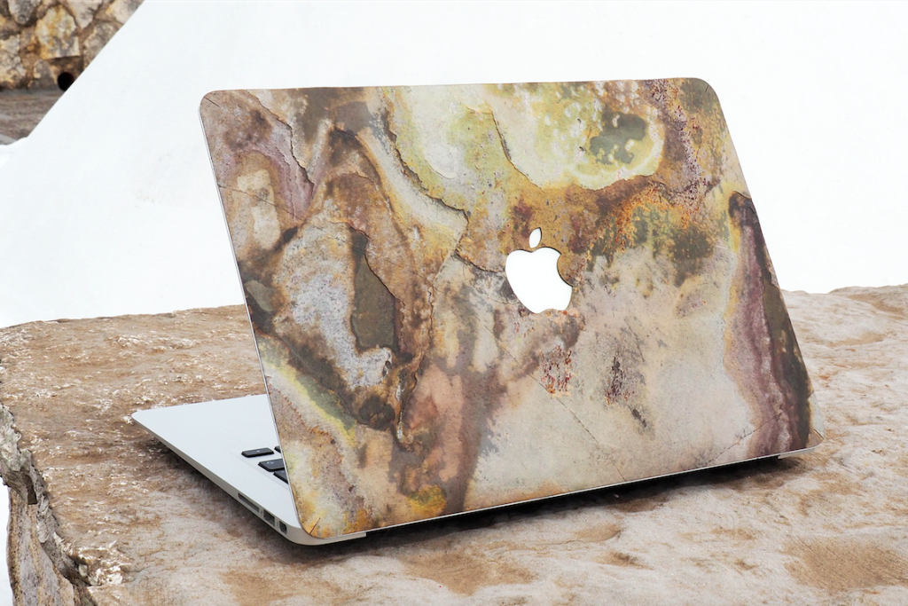 Bambooti stenen laptopcases