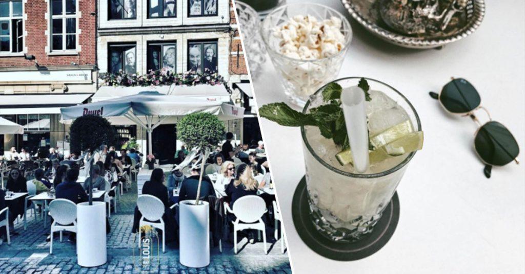 Bar Louis mooiste terrasjes in Leuven