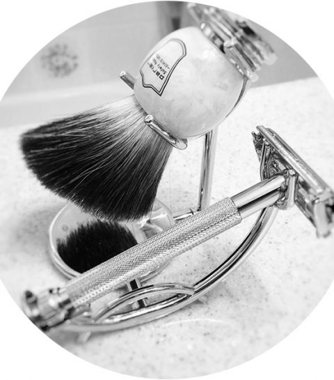 Musthave voor ieder koppel: de beard buddy vangt afgeschoren haartjes op