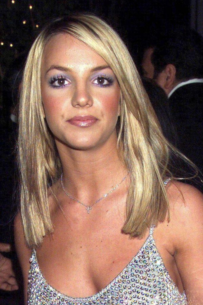beautytrends 2000 britney sprears paars oogschaduw