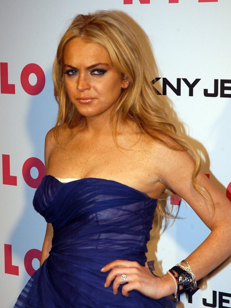 beautytrends 2000 lindsay lohan spray tan