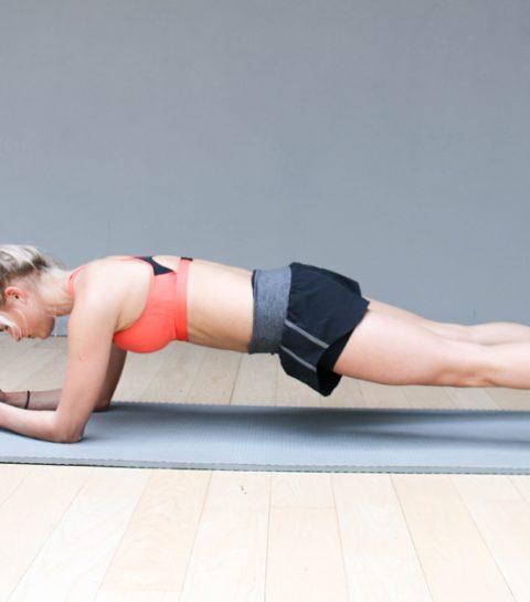 Bikini Body Challenge: plank je slank