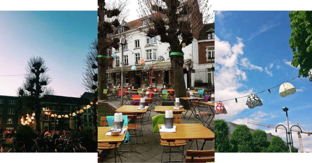 Terrasjes in Leuven De Werf